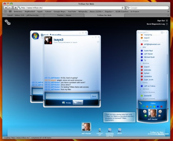 Trillian for Web-1
